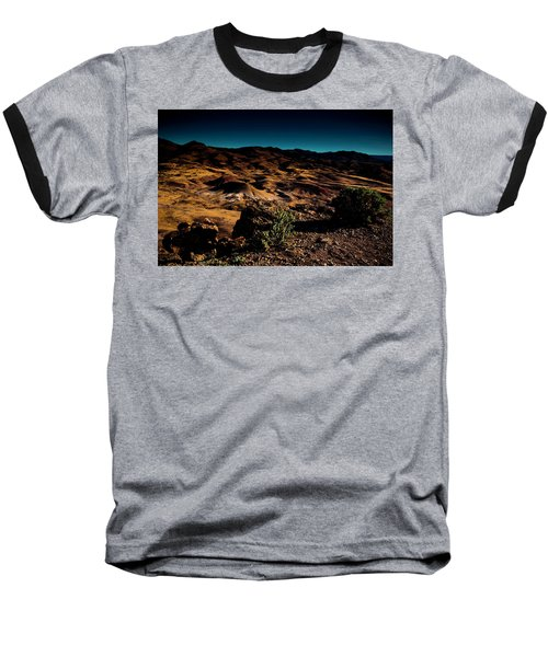 Looking Across The Hills Baseball T-Shirt