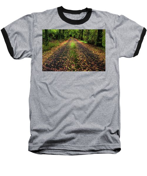 Looking Down The Lane Baseball T-Shirt