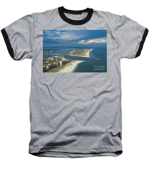 Looking East Across Perdio Pass Baseball T-Shirt
