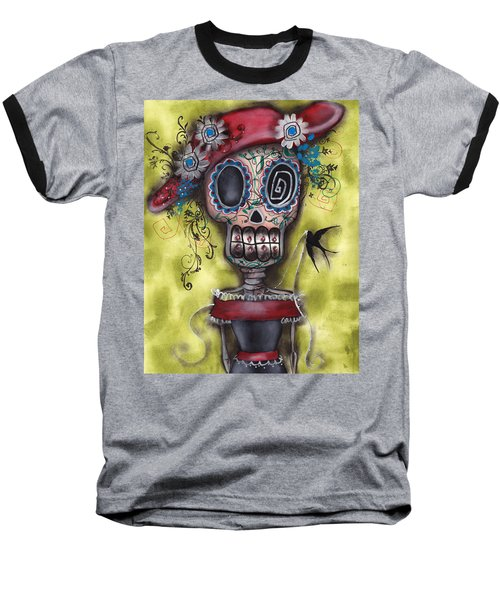 Looking For Love Baseball T-Shirt by  Abril Andrade Griffith