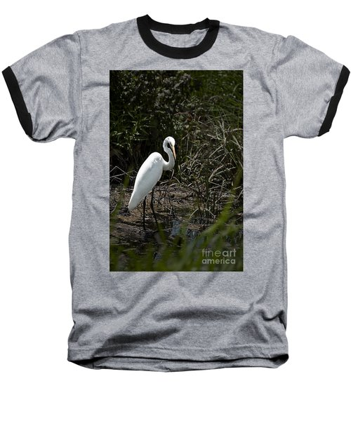 Baseball T-Shirt featuring the photograph Looking For Lunch by Tamyra Ayles