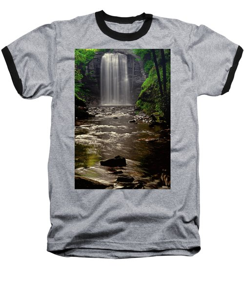 Baseball T-Shirt featuring the photograph Looking Glass Falls 009 by George Bostian