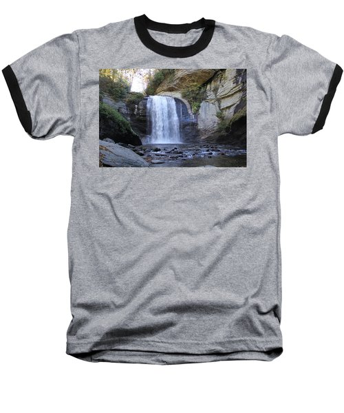 Looking Glass Falls Baseball T-Shirt