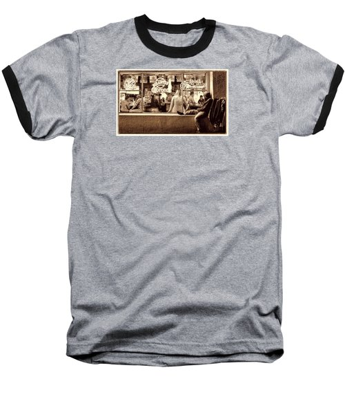 Baseball T-Shirt featuring the photograph Looking In by Steve Siri