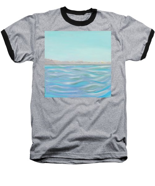Looking South Tryptic Part 1 Baseball T-Shirt
