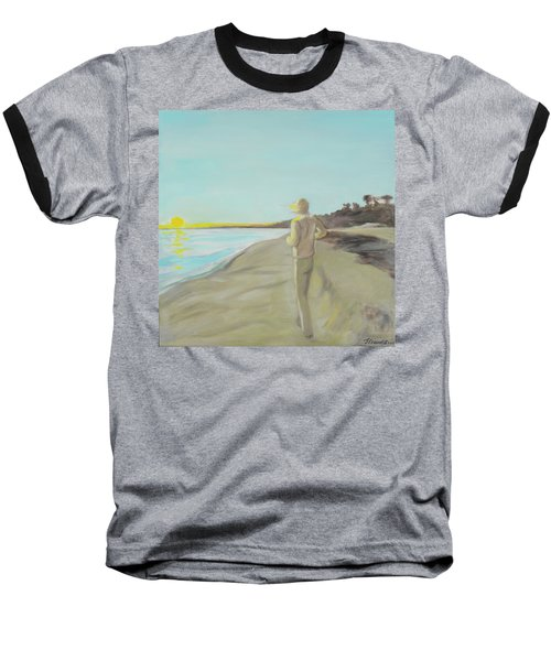 Looking South Tryptic Part 3 Baseball T-Shirt