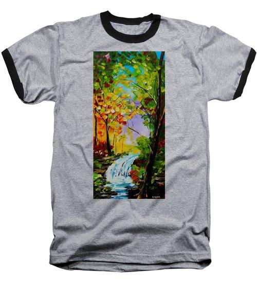 Looking Through Baseball T-Shirt