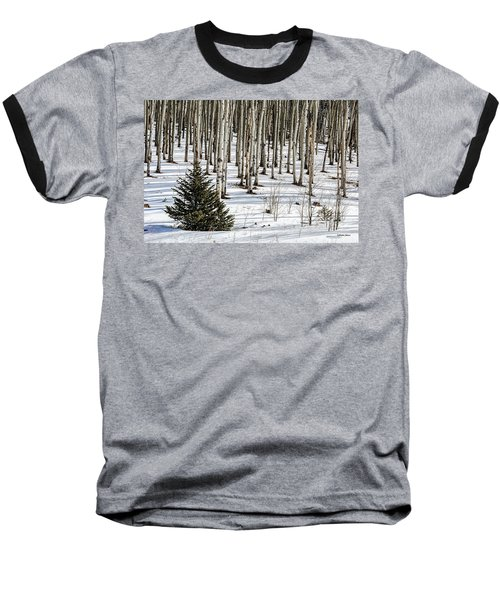 Looking Through The Aspen Baseball T-Shirt