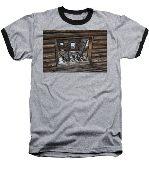 Looking Through Time Baseball T-Shirt