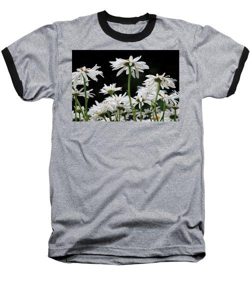 Looking Up At At Daisies Baseball T-Shirt