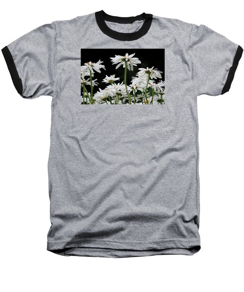 Looking Up At At Daisies Baseball T-Shirt