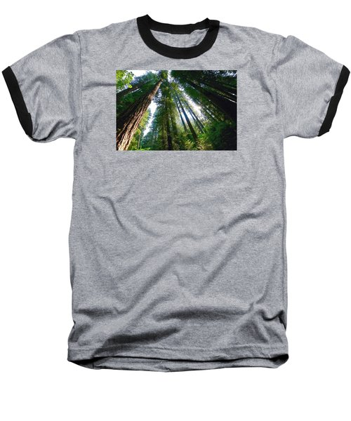 Baseball T-Shirt featuring the photograph Looking Up by Lynn Hopwood