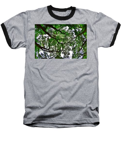 Looking Up The Oaks Baseball T-Shirt