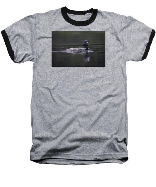 Loon 3 Baseball T-Shirt