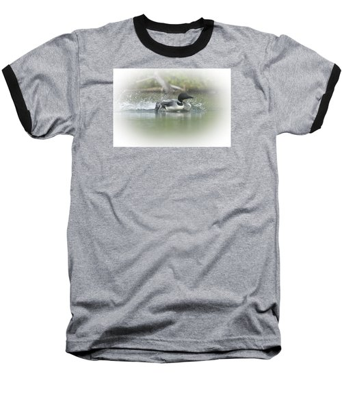 Loon 6 Baseball T-Shirt