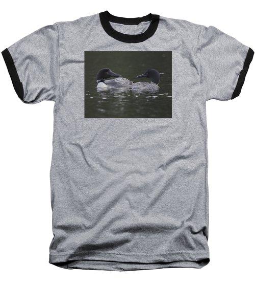 Loon Pair Baseball T-Shirt