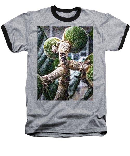 Loquat Man Photo Baseball T-Shirt by Gina O'Brien