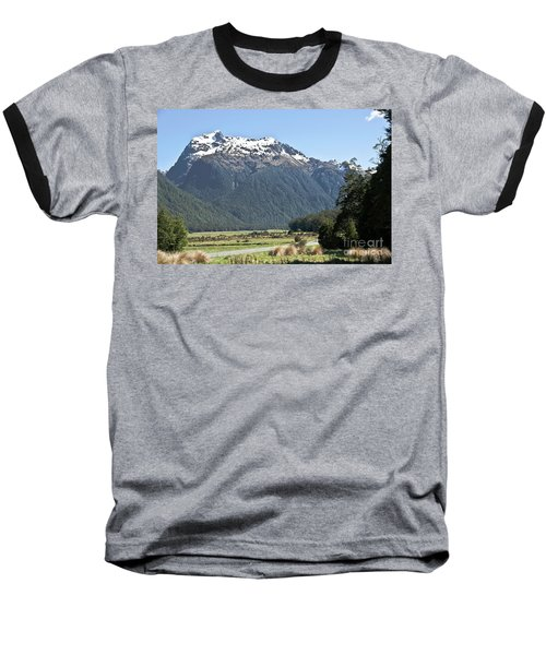 Lord Of The Rings Locations, New Zealand Baseball T-Shirt