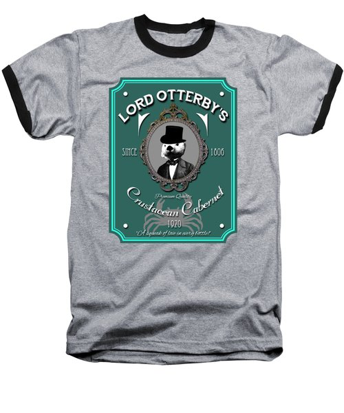 Lord Otterby's Baseball T-Shirt by Eye Candy Creations