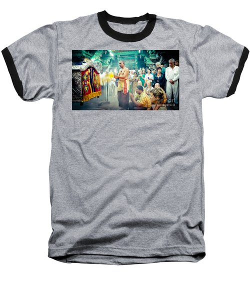Lord Shiva Meenakshi Temple Madurai India Baseball T-Shirt