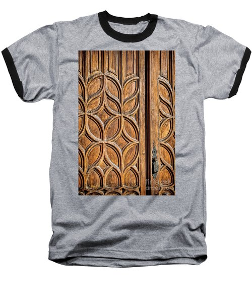 Baseball T-Shirt featuring the photograph Loretto Doorway by Gina Savage