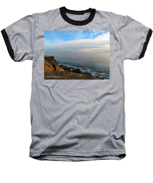 Baseball T-Shirt featuring the photograph Los Angeles Sunset by Joan  Minchak