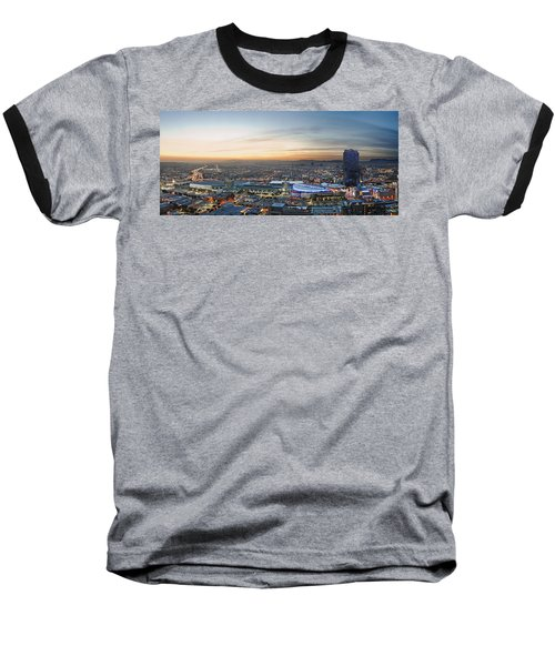 Los Angeles West View Baseball T-Shirt by Kelley King