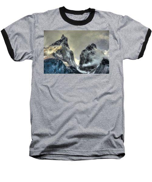 Los Cuernos-the Horns Baseball T-Shirt