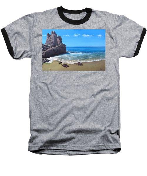 Los Muertos Beach Baseball T-Shirt