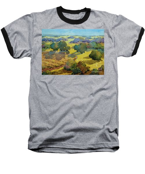 Los Olivos Impression Baseball T-Shirt