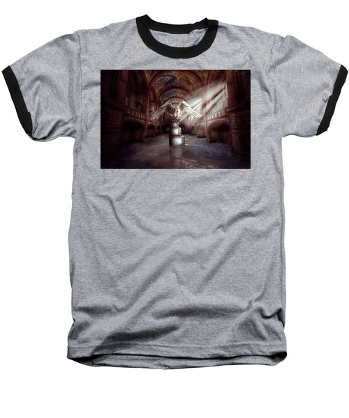 Baseball T-Shirt featuring the digital art Losing My Religion by Nathan Wright