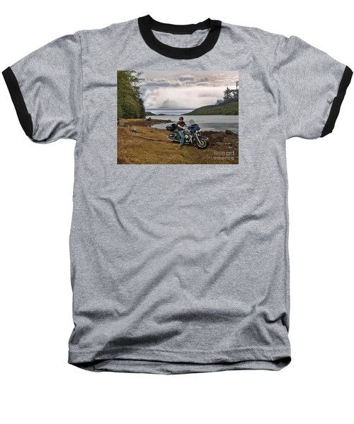Lost At Sea Baseball T-Shirt