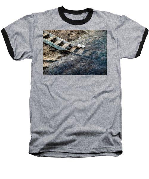 Baseball T-Shirt featuring the photograph Lost Boys by Wayne Sherriff