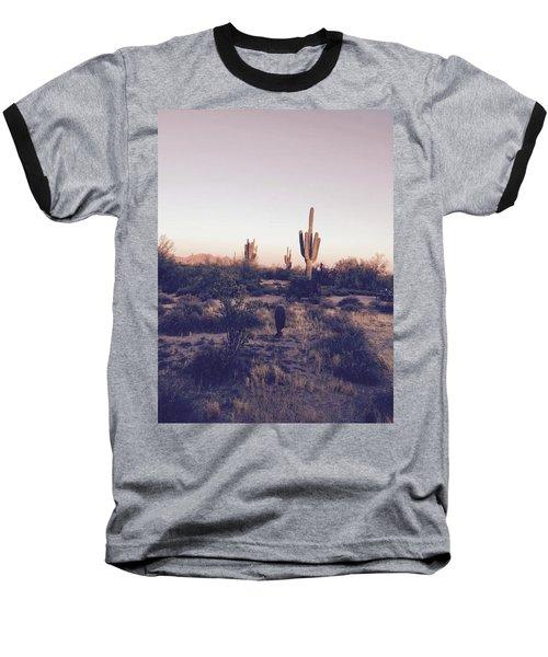 Lost In The Desert Baseball T-Shirt