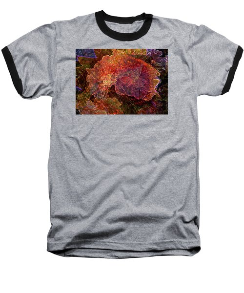 Lost In The Flowers Baseball T-Shirt