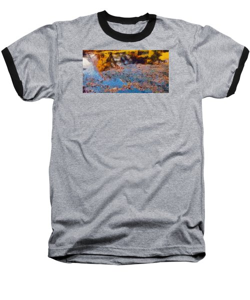 Baseball T-Shirt featuring the photograph Lost In The Pond by Spyder Webb