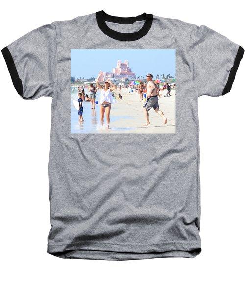 Lost In The Sun Baseball T-Shirt