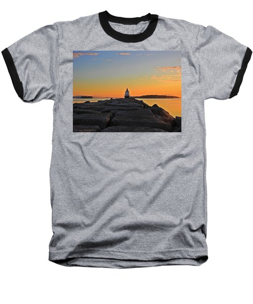 Lost In The Sunrise Baseball T-Shirt