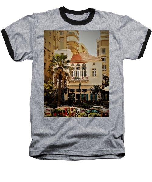 Lost In The Urban Jungle  Beirut  Baseball T-Shirt