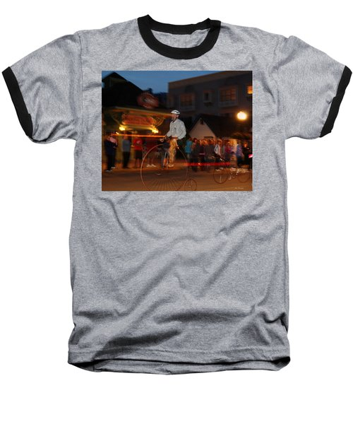 Lost In Time On Mackinaw Baseball T-Shirt