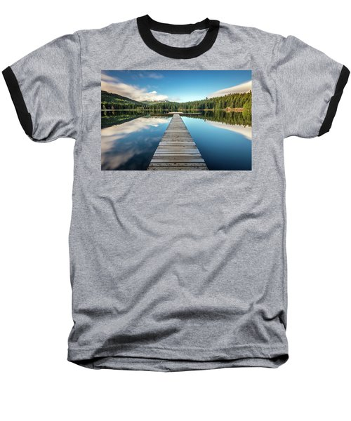 Lost Lake Dream Whistler Baseball T-Shirt by Pierre Leclerc Photography