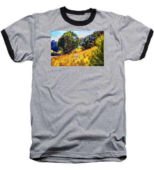 Baseball T-Shirt featuring the photograph Lost Lamb by Rick Bragan