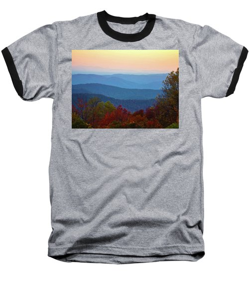 Baseball T-Shirt featuring the photograph Lost On The Blueridge by B Wayne Mullins