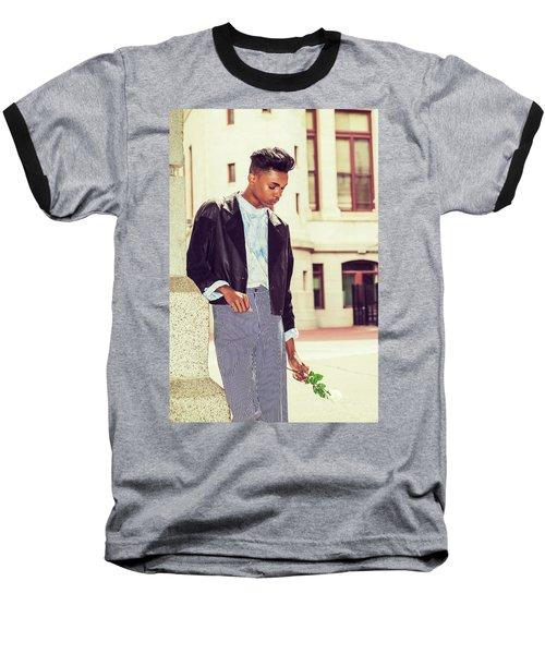 Lost Rose Baseball T-Shirt
