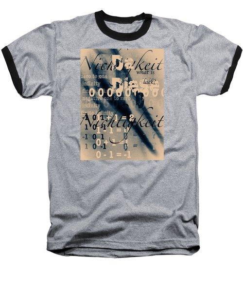 Lost--zero--nothingness Baseball T-Shirt