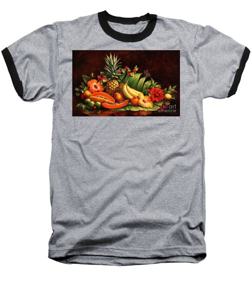 Lots Of Fruit Baseball T-Shirt