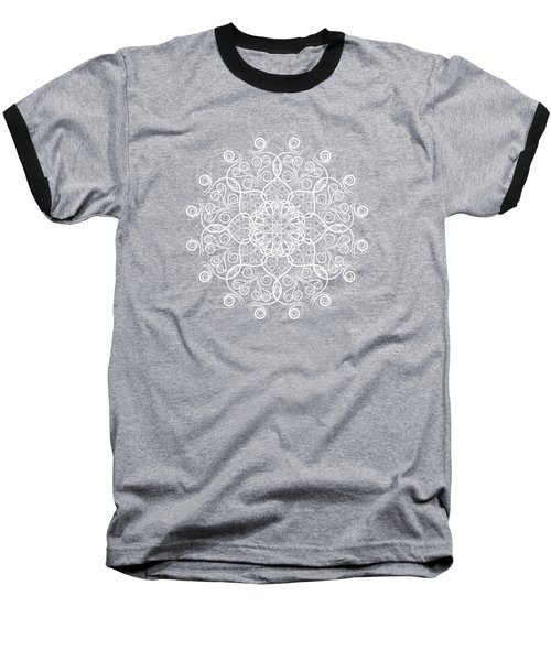 Lotus #1 Inverted Baseball T-Shirt