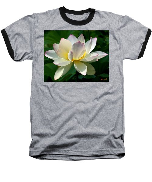 Lotus Beauty--disheveled Dl061 Baseball T-Shirt