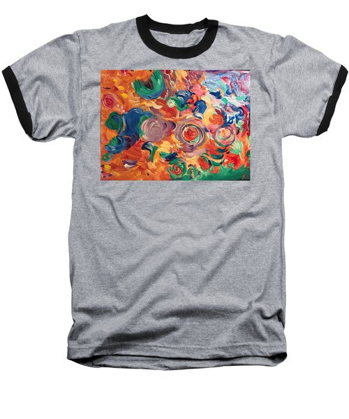 Lotus Blooms Baseball T-Shirt