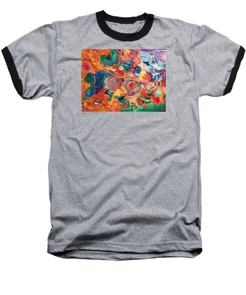 Lotus Blooms Baseball T-Shirt